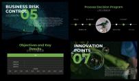 【完整框架】绿色炫酷年度工作计划总结通用模板示例5