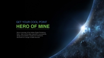 【动态】炫酷宇宙科幻科技动画展示商务汇报总结蓝色示例3