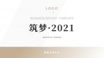 【简约商务】动态换色中文通用报告PPT模板示例2