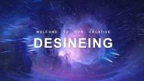 【抽象爆炸】创意商务总结计划模板