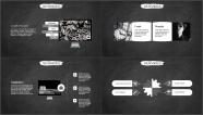 【学霸归来】创意黑板答辩&述职模板第五弹示例5