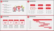 红白简约风格细致排版商业实用模板示例4