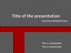 简洁计划、总结PPT模板