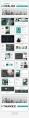 【超色】21套配色超值简约杂志风商务PPT模板示例3