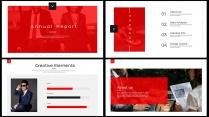 全页设计图文混排现代商务总结报告模板10