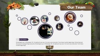 【超动画 聚划算】春光乍泄之原始森林艺术模板示例7