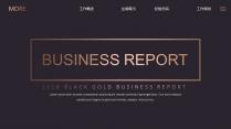 【欧美网页】高端黑金网页版式工作总结汇报6