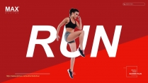 大气视觉化时尚体育运动类型通用模板4