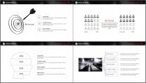 网页风大气极简精致排版企业商务通用PPT模板示例6