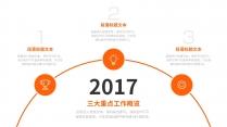 【精致视觉16】橙色大气激情醒目年终总结工作汇报示例4