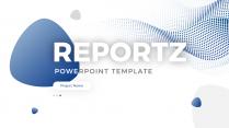 【简约商务】蓝色高端经典商业汇报PPT模板2