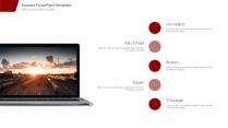 【精致商务】简约实用红色主题模板示例6