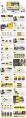 【动态】黑黄合集—欧美时尚商务PPT【含四套】示例6