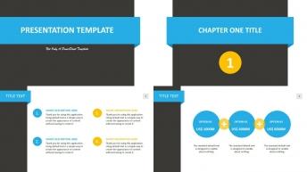 简洁实用系列:通用商务PPT模板