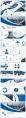 藍色工作報告PPT模板合集【八】含四套示例4