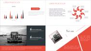 【B】红色欧美杂志风PPT模板示例4