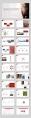 【精致商务】简约实用红色主题模板示例8