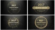 金色年终总结商务报告工作计划项目策划合集【含四套】