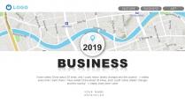 【现代都市】蓝色系城市地图风格报告示例2