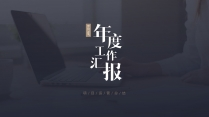 【图文混排】简约商务汇报模板06