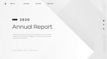 【创意几何】高端黑色总结报告工作计划商务汇报模板