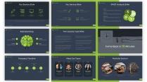 【绿色】深蓝质感简约欧美风商务通用PPT模板示例4