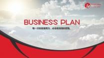 【RED】红色(三十九)商务工作报告模板【179】