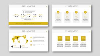 高端商务系列9:欧美风扁平化精致实用商务PPT模板示例5