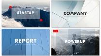 创意图文混排现代商务汇报工作计划模板【含四套】