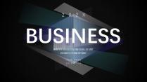 【透视科技】商务企业宣传数据分析模板示例3