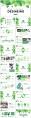 【清新绿叶】工作汇报总结多用途模板示例3