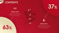 【动画PPT】圣诞红质感商务模板45.0示例6