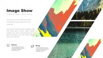 创意抽象水彩高品质商务可视化多用途模板示例6