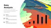 创意抽象水彩高品质商务可视化多用途模板示例7