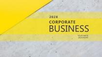 【商业】简约通用商务报告年终汇报项目总结