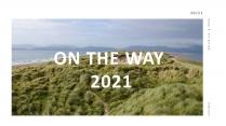 (52)创意旅行高级简约清新商务PPT模板