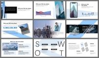 【简约设计】浅蓝现代极简经典模板2示例4