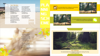 【清新杂志风】 提案PPT模板示例5