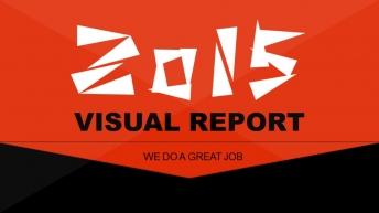 2015超实用高端质感 商务大气总结汇报可视化模板