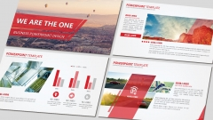 【RED】红色(十二)工作报告模板【55】示例2