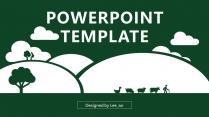 环境绿化-公益环保提案策划通用