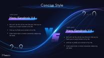 【動畫PPT】藍紫科技大氣商務模板69.0示例5