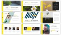 【极简】黄色清新欧美科技公司商务展示计划书示例3