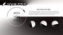 【黑白双色】简洁个性商务年终报告极简风格ppt示例4