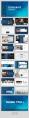 【北欧风】蓝色轻奢北欧风情产品商务模板合集示例3
