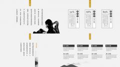 【简素第七季】禅意浓动态中国风疗愈型PPT模板示例7