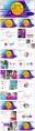 【抽象艺术】商务汇报工作计划通用模板(含四套)示例3