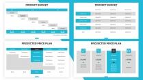 【蓝色】欧美简洁商业项目计划书PPT通用模板示例4