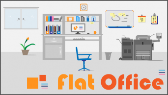 Plat Office  多用途PPT素材示例2