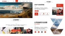 【双配色】UI网页风格时尚模板09示例4